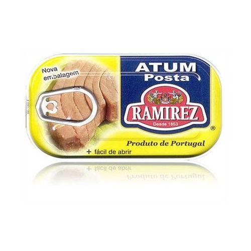 Portugalski stek z tuńczyka w oleju 120g marki Ramirez