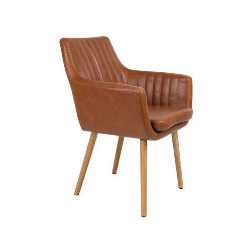 krzesło pike brązowe 1100283 1100283 marki Orange line