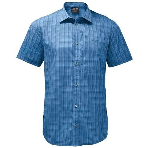 Koszula RAYS STRETCH VENT SHIRT MEN - wave blue checks