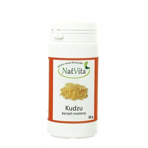 Kudzu korzeń mielony 50g NatVita (zdrowa żywność)