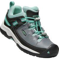KEEN dziecięce buty trekkingowe Targhee Low WP blue steel grey/wasabi US 7 (39 EU)