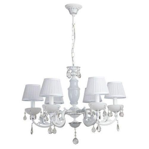 Mw-light Żyrandol duży wiszący z abażurami sześcioramienny elegance (482011006)