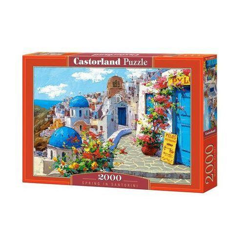 Castor Puzzle 2000 elementów. spring in santorini