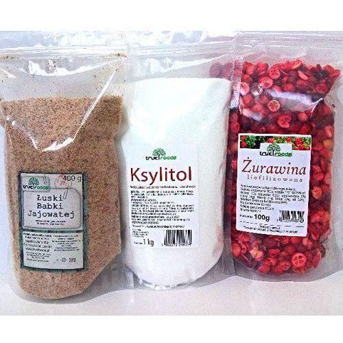 True foods Dieta oxy (żurawina 100g+ksylitol 1kg+łuski babki jajowatej 400g)