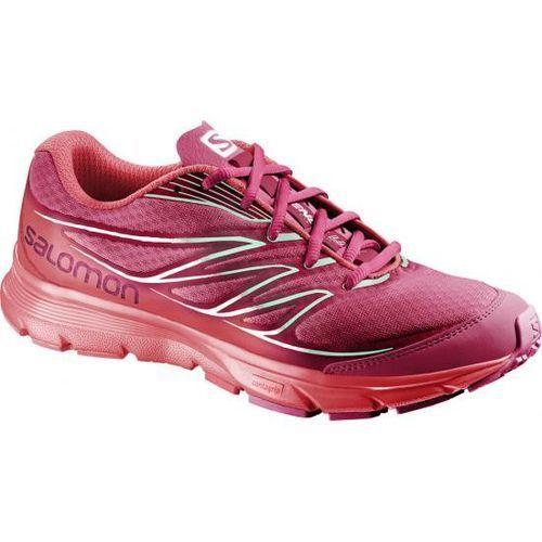 Salomon Damskie buty do biegania sense link w czerwone 38