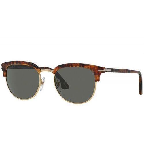 Persol Okulary przeciwsłoneczne black/dark brown, 0PO3105S