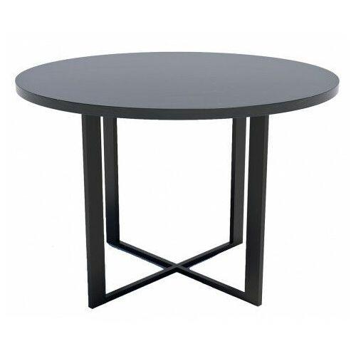 Loftowy stół z blatem wytrawny szary kamień - inger marki Producent: elior