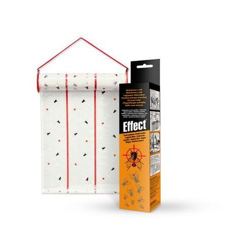 Silny lep na muchy. Pułapka lepowa na muchy Effect rolka 10m. (3830043530250)