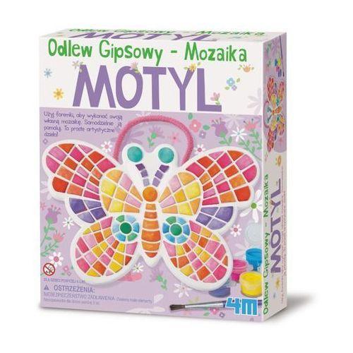 4m odlewy gipsowe - mozaikowy motyl