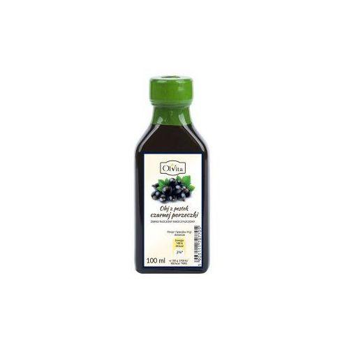Olej z pestek czarnej porzeczki zimno tłoczony nieoczyszczony 100ml Olvita