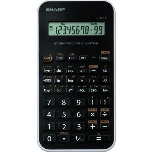 Kalkulator Sharp EL501XWH Szybka dostawa! Darmowy odbiór w 21 miastach! (4974019707655)