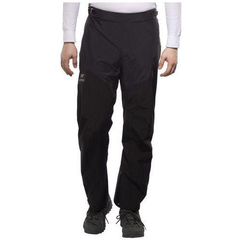 alpha sl spodnie długie mężczyźni czarny s 2018 spodnie przeciwdeszczowe marki Arc'teryx