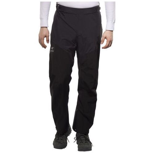 Arc'teryx Alpha SL Spodnie długie Mężczyźni czarny L 2018 Spodnie przeciwdeszczowe (0806955757453)