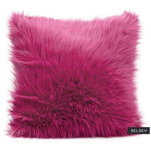 poszewka na poduszkę anthonie 55x55 cm z długim włosiem marki Selsey