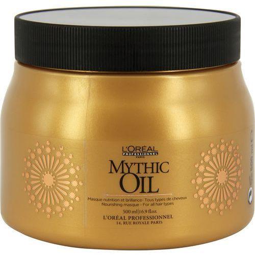 LOREAL MYTHIC OIL, Maska do włosów normalnych i cienkich 500 ml