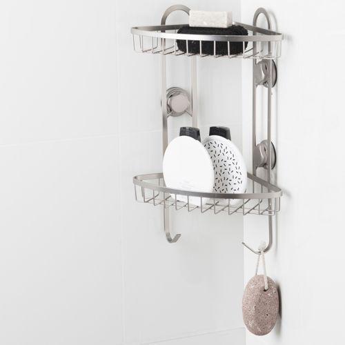Półka prysznicowa narożna Tenno z przyssawkami, W3_BS_012_00191