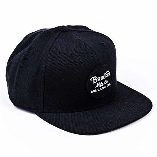 czapka z daszkiem BRIXTON - Wheeler Black 0100 (0100)