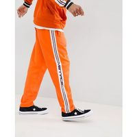 Mennace Jogger In Orange With Taping - Orange