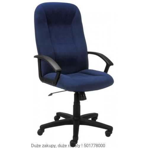 Fotel biurowy mefisto 2002 m-62 granatowy marki Nowy styl