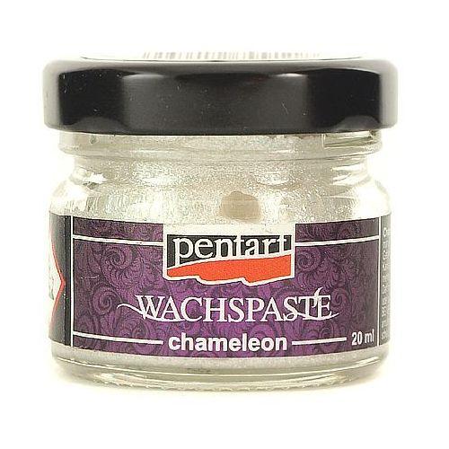 Pasta woskowa chameleon 20 ml - srebrny połyskując - srepoł marki Pentart