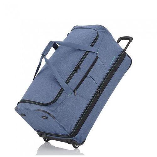 Travelite Torba podróżna  basics doubledecker xxl - niebieski