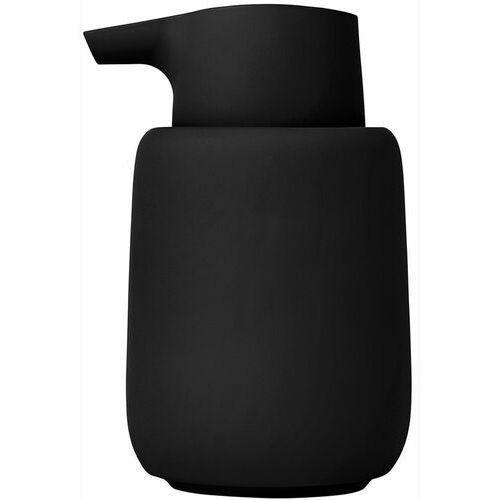 Blomus Dozownik do mydła ceramiczny sono czarny (b66274)