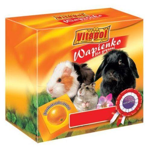 VITAPOL kostka wapienna dla gryzoni pomarańcza, 1 sztuka ()