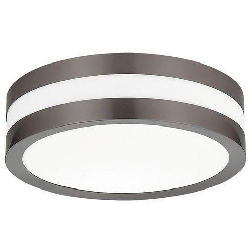 Plafon zewnętrzny lampa sufitowa Rabalux Stuttgart 2x11W E27 IP44 szary 8684 (5998250386843)