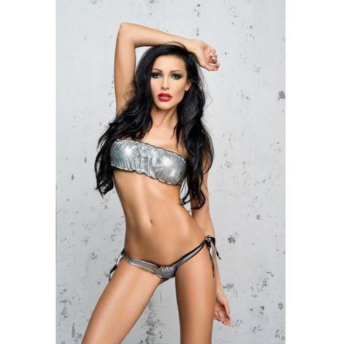 Me Seduce Copacabana Silver 1 Mini bikini z kategorii Komplety erotyczne