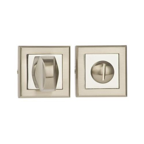 Schaffner Rozeta podklamkowa do wc larga/helen/gold/rosa/mada chrom nikiel