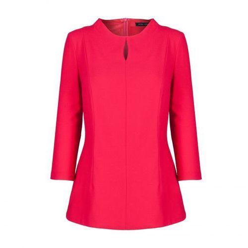 Bluzka 5638 (Kolor: czerwony, Rozmiar: 46), kolor czerwony
