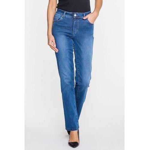 Niebieskie jeansy z podkreśloną linią bioder - RJ Rocks Jeans, jeans