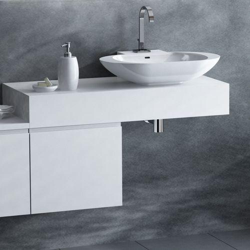 combi szafka lewa z blatem prawym i umywalką libra biały alt-141/45-l-ws+alt-b/3r-1000x450x150-ws+ucs-tc-66, marki Antado