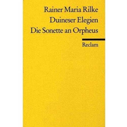 Duineser Elegien. Die Sonette an Orpheus