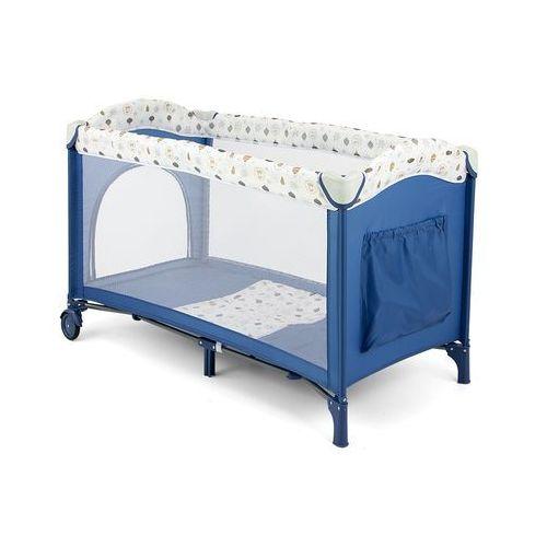łóżeczko turystyczne mirage, blue/white marki Millymally