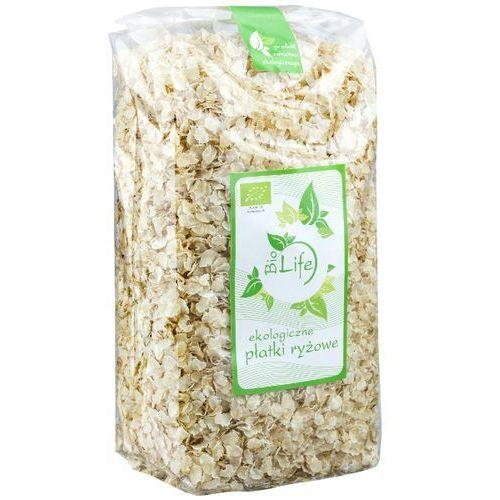 BIOLIFE 600g Płatki ryżowe Bio - produkt z kategorii- Płatki, musli i otręby
