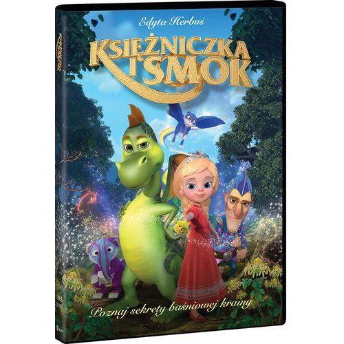 KSIĘŻNICZKA I SMOK (Płyta DVD) (7321950611973)