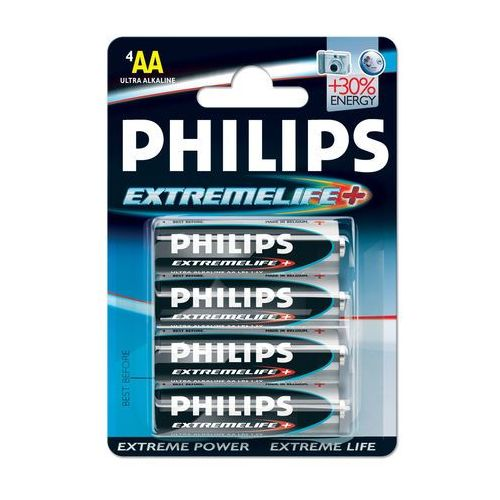 Philips ExtremeLife Bateria LR6-P4/12B (8710895753654)