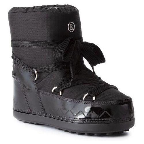 Śniegowce BOGNER - Trois Vallees 11 393-1504 Black 01, kolor czarny