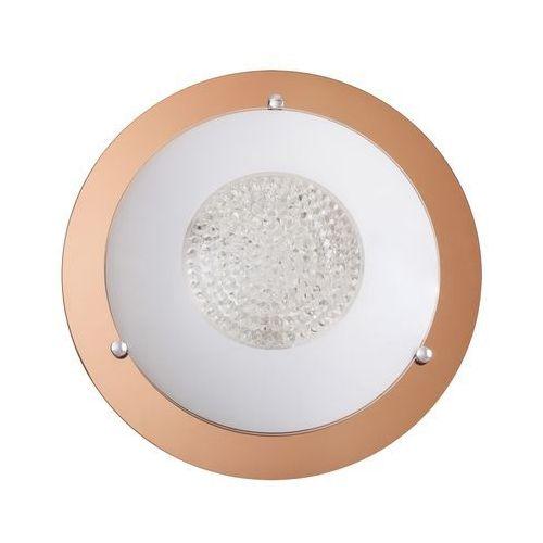 Plafon lampa sufitowa patricia 3x40w e27 przezroczysty / różowo-złoty 2467 marki Rabalux