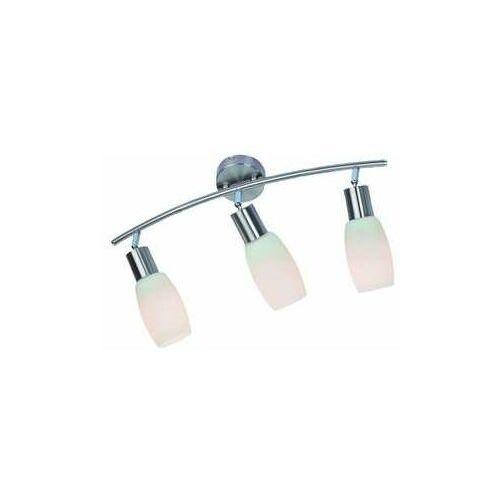 Reality Listwa lampa sufitowa plafon namp 3x40w e14 nikiel mat 809903-07 (5906737304266)
