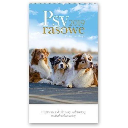 Kalendarz 2019 Reklamowy Psy rasowe RW23 (5901397027135)