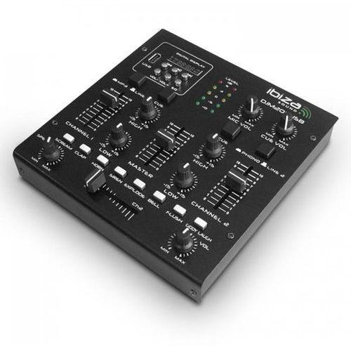 Ibiza DJM 200 USB 2-kanałowy pulpit mikserski USB MP3