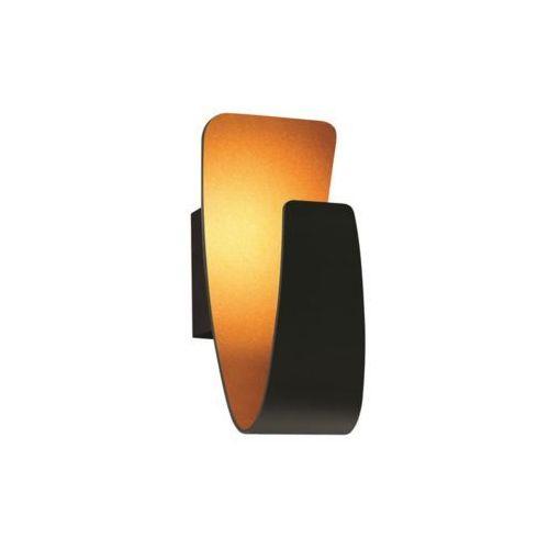 Kinkiet lampa oprawa ścienna Britop Lighting Gondola 1x5W LED czarny / złoty 1110104, 1110104