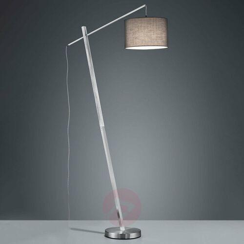 Reality padme lampa stojąca nikiel matowy, 1-punktowy - nowoczesny - obszar wewnętrzny - padme - czas dostawy: od 3-6 dni roboczych (4017807411492)