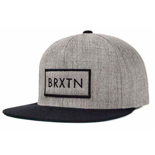 czapka z daszkiem BRIXTON - Rift Light Heather Grey/Black (0371) rozmiar: OS