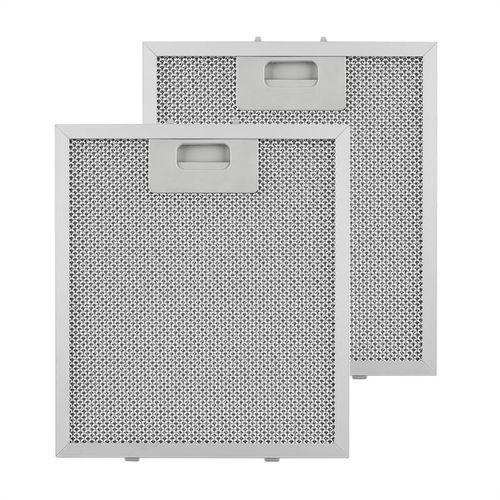 Klarstein filtr aluminiowy przeciwtłuszczowy, 23 x 26 cm, filtr zamienny zapasowy (4260509689052)