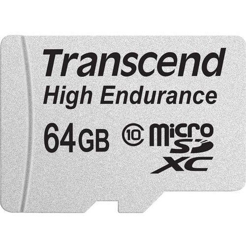 Karta pamięci microSDXC Transcend TS64GUSDXC10V, 64 GB, Class 10, 21 MB/s / 20 MB/s, High Endurance