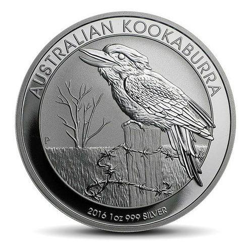 Australijska kookaburra 1 uncja srebra - 15 dni roboczych marki Perth mint
