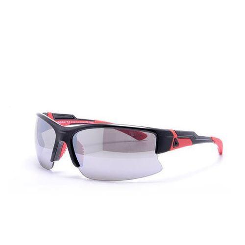 Sportowe okulary przeciwsłoneczne sport 17, czarny/pomarańczowy marki Granite